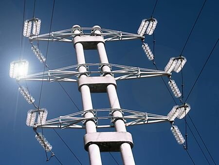 energy suppliers: power poles