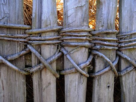 capping: fence Stock Photo