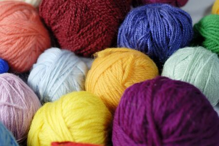 gomitoli di lana: lana