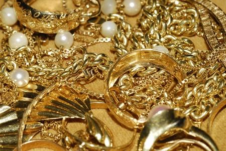 gold jewelry Stock Photo - 10817032