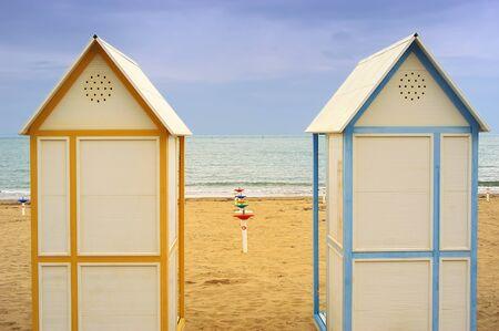wasser: Beach cubicles
