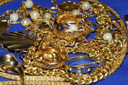 gold jewelry Stock Photo - 10889632