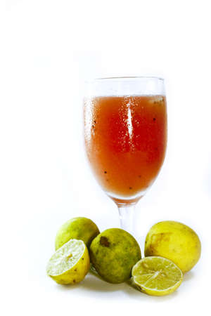 guava juice mixed with lemons  photo