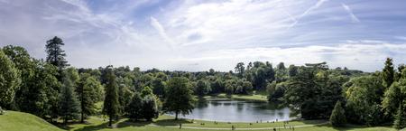 Claremont lake - panorama