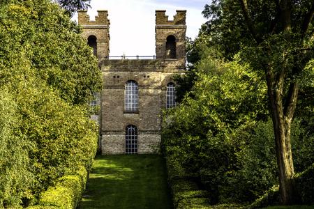 The Belvedere Tower, Claremont Landscape Garden, Esher, United Kingdom