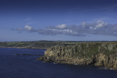 Cornish Ocean - View From The Lizard Point / Cornwall, United ...