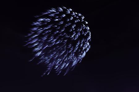 Bonfire Night fireworks displays in London Stock Photo