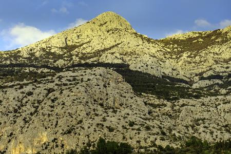 Sveti Jure - Biokovo Mountains peak near Makarska, Croatia