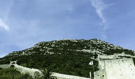 Great Wall of Ston - Ston, Dubrovnik - Neretva, Croatia Stock Photo