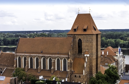 Church of St. John the Baptist and St. John the Evangelist - Cathedral of Torun, Poland