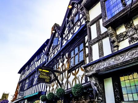 Vintage architecture of Stratford-upon-Avon, Warwickshire, United Kingdom Editorial