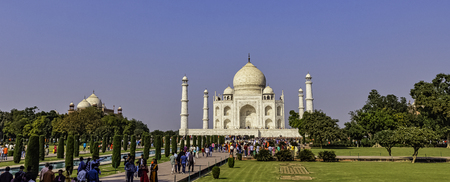 Crown of the Palaces - Taj Mahal in Agra, Uttar Pradesh, India