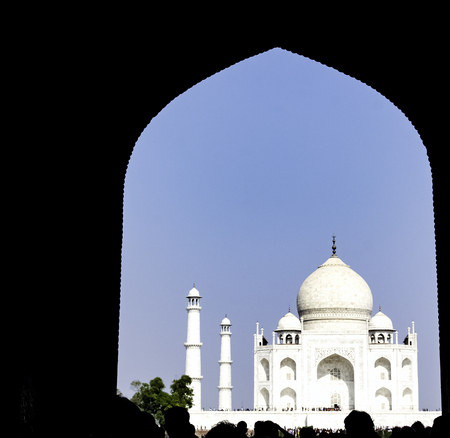 Taj Mahal in Agra, Uttar Pradesh, India Stock fotó