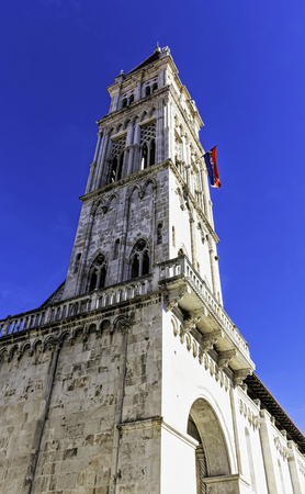 Cathedral of St. Lawrence in historic city of Trogir, Croatia