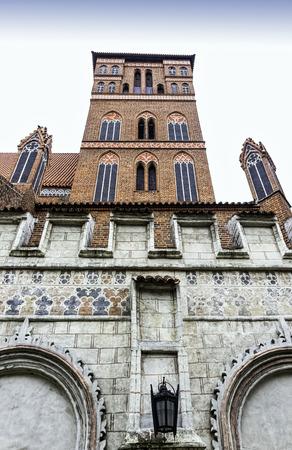 Church of St James the Apostle in Torun, Poland Stock Photo