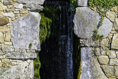 Cascade between Eleven Acre Lake and Upper Copper Bottom
