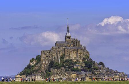 Le Mont Saint Michel - Normandy, France Imagens
