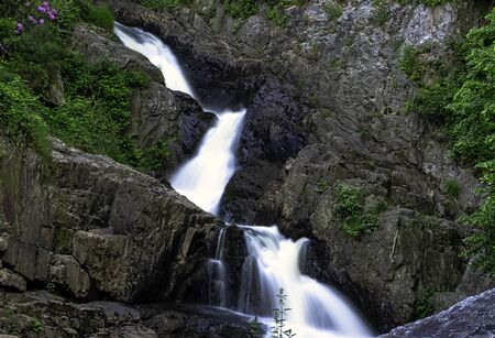 La Grande Cascade - The Great Waterfall of the Cance and Cançon rivers  - Le Neufbourg, Normandy, France