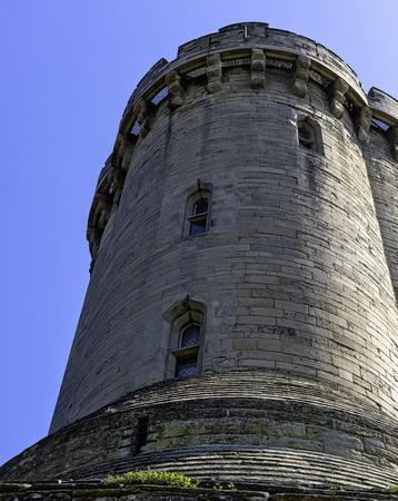Warwick Castle - Caesars Tower in Warwick, UK Redakční