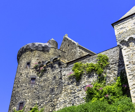Chateau de Vitre -  medieval castle in the town of Vitré, Brittany, France