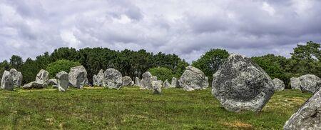 Alignements de Carnac - Carnac stones in Carnac, France Stockfoto