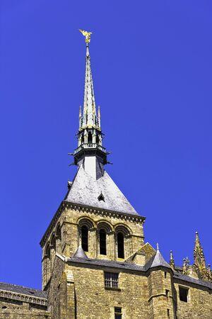 Le Mont Saint Michel - Normandy, France Banque d'images