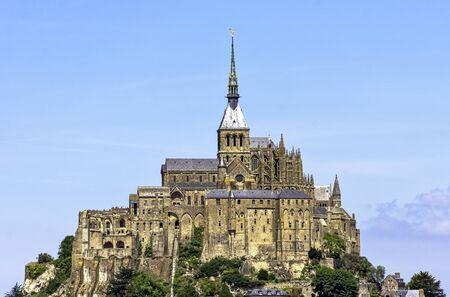 Le Mont Saint Michel - Normandy, France Фото со стока