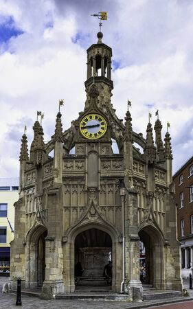 Perpendicular market cross in the centre of the city of Chichester, West Sussex, United Kingdom