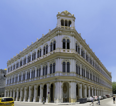 Hotel Plaza - Agramonte, Havana, Cuba Editorial