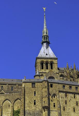 Le Mont Saint Michel - Normandy, France Editorial
