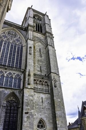 Cathedral of Saint Julian (Cathedrale St-Julien du Mans) in Le Mans, Maine, France
