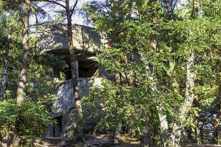 Old Polish bunker on the coast - Hel, Pomerania, Poland