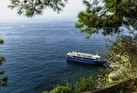 Ligurian Sea in Monterosso al Mare, Cinque Terre, Liguria, Italy
