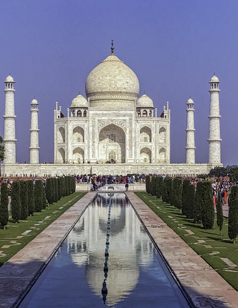 Picture of Crown of the Palaces - Taj Mahal in Agra, Uttar Pradesh, India