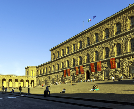 Palazzo Pitti or Pitti Palace in Florence, Tuscany, Italy
