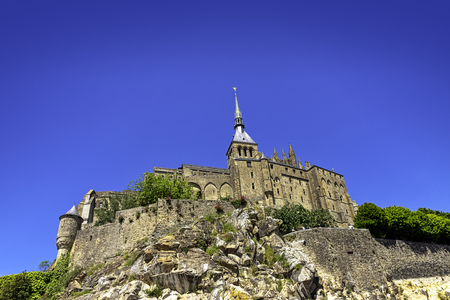 Le Mont Saint Michel - Normandy, France 新聞圖片