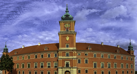 Royal Castle in Warsaw, Masovia, Poland