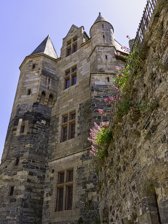 Chateau de Vitre -  medieval castle in the town of Vitre, Brittany, France