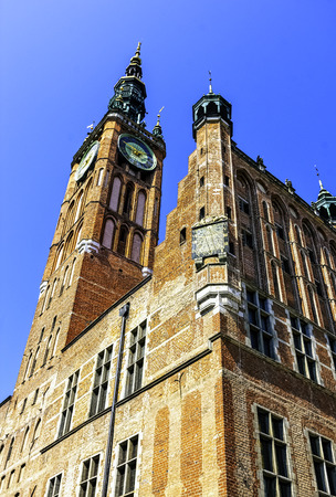 Historical Museum of the City of Gdansk in Main Town Hall - Gdansk, Tricity, Pomerania, Poland 版權商用圖片 - 132419941