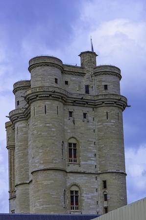 Chateau de Vitre -  medieval castle in the town of Vitré, Brittany, France