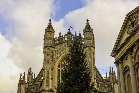 Bath Abbey in Bath, Somerset, United Kingdom