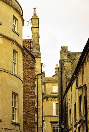 Vintage architecture of Bath, Somerset, United Kingdom Reklamní fotografie