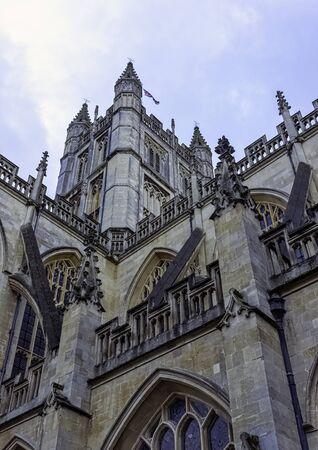 Bath Abbey in Bath, Somerset, United Kingdom Reklamní fotografie