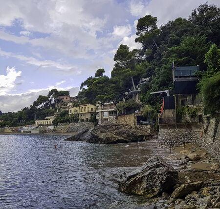 Ligurian Sea in Tellaro, Cinque Terre, Liguria, Italy