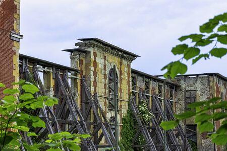 Coupvray Castle (Chateau de Coupvray) in Coupvray, Seine-et-Marne, Ile-de-France, France