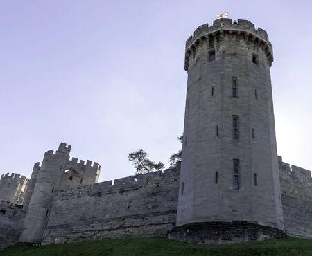 Warwick Castle - Guys Tower in Warwick, Warwickshire, United Kingdom Editorial