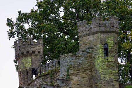 Warwick Castle - Mound in Warwick