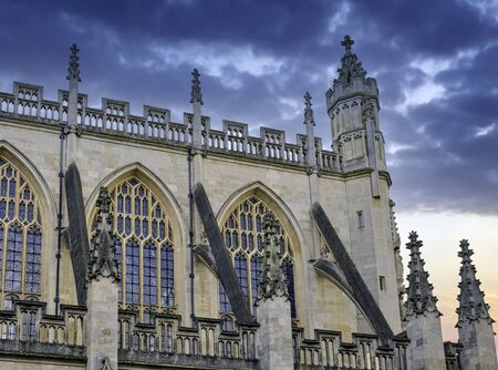 Bath Abbey in Bath, Somerset, United Kingdom