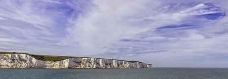White cliffs of England in Dover, United Kingdom