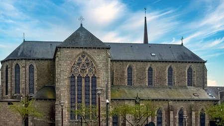 Chapel of the Brothers of La Mennais (Chapelle des Freres de La Mennais)  in Ploermel, Brittany, France 報道画像